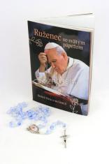 Ruženec so svätým pápežom (brožúrka + ruženec) - Svätý Otec o ruženci