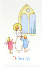 Skladačka: Otče náš - modlitba s obrázkami