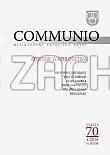 Communio 1/2014 - Mezinárodní katolická revue. 18. ročník - svazek 70 - Apologie a apologetika