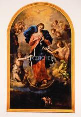 Kartička: Panna Mária rozväzovačka uzlov
