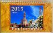 Kalendář 2015 stolní - Poutní místa - český kalendář