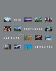 Slovensko - Slowakei - Slovakia - v jazyku: slovenskom, anglickom, nemeckom