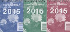 Minikalendár 2015 stolový (Neografia)