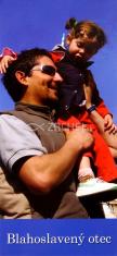 Záložka: Blahoslavený otec (Z-109SK) - kartónová záložka s modlitbou