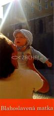 Záložka: Blahoslavená matka (Z-110SK) - kartónová záložka s modlitbou