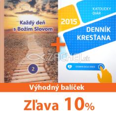 Balíček: Každý deň s Božím Slovom 2015 + Denník kresťana 2015 - Sada za výhodnú cenu