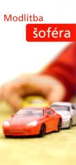 Záložka: Modlitba šoféra (Z-145SK) - kartónová záložka s modlitbou