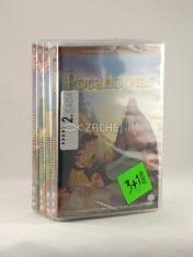 4 DVD - Animované príbehy velikánov dejín 2