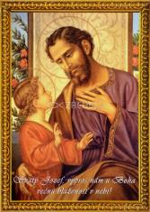 Obrázok: Svätý Jozef (A6)