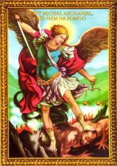 Obrázok: Svätý Michal Archanjel - s modlitbou