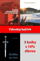 Sada: Služba osvobozování od zlých duchů; Modlitba jako zbraň; Modlitba, ktorá uzdravuje - Balíček 3 kníh za výhodnú cenu
