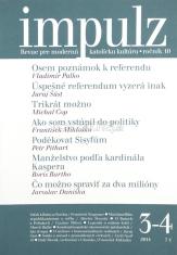 Impulz 3 - 4/2014 - Revue pre modernú katolícku kultúru