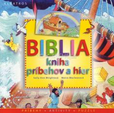 Biblia kniha príbehov a hier - pre deti 6+