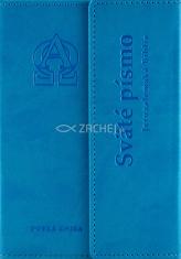 Jeruzalemská Biblia (tyrkysová obálka, vrecková) - S magnetickou chlopňou + 10 strán príloha: mapy