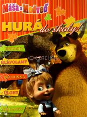 Máša a Medveď: Hurá do školy - príbehy, hlavolamy, bludiská, úlohy, hádanky