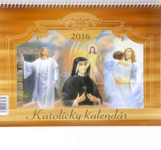 Katolícky kalendár 2016 stolový (Via)