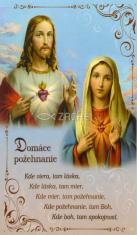 Obrázok: Domáce požehnanie (137/162) - Modlitba k Matke Božej v ťažkom utrpení, laminovaný