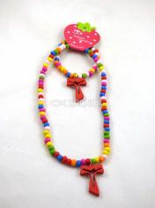 Set: Detský náhrdelník + náramok s krížikom (S96)