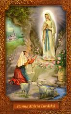 Obrázok: Panna Mária Lurdská (JH) - Prosba za uzdravenie, laminovaný