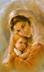 Obrázok: Matka (25/28) - Modlitba matky za deti, laminovaný