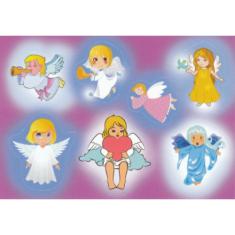Samolepky hárok (8x11,5) - Anjeli