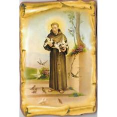 Obraz na dreve: Sv. František (15x10) (č.140)