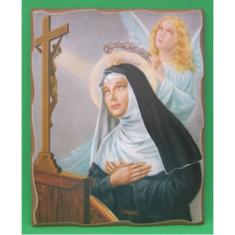 Obraz na dreve: Svätá Rita (20 x 25 cm)