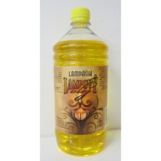Lampový olej 1l far. - citrón