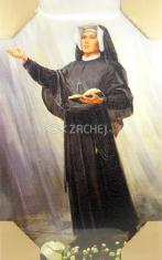 Obraz na dreve: Svätá Faustína (40x30)