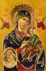 Kartička: Matka ustavičnej pomoci (RCC) - Modlitba chorého, plastová
