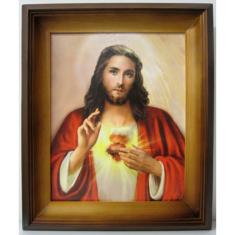 Obraz v ráme: Srdce Pána Ježiša 1. (26632)
