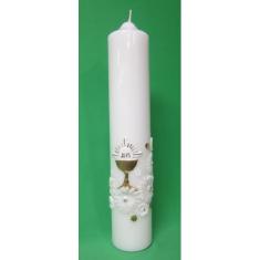 Sviečka 400g - Kalich, kvety