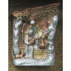 Betlehem: voskový na postavenie (B1)