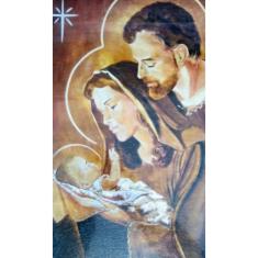 Obraz na dreve: Svätá rodina - vianočná (30x20)