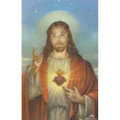 Obrázok: Srdce Pána Ježiša -  smútočný (3003)