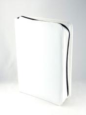Obal: na Jeruzalemskú bibliu, veľkú - biely - so zipsom