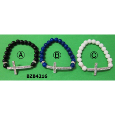 Náramok: so štrasovým krížikom (BZB4216)
