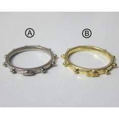 Prsteň kov. - 19 mm
