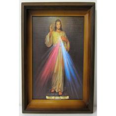 Obraz v ráme: Božie milosrdenstvo (76x44)