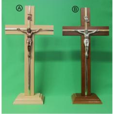 Kríž drev. s lištou na postavenie / Z - 30cm