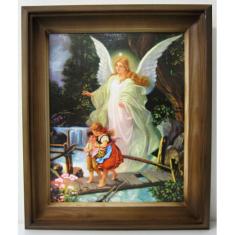 Obraz v ráme: Anjel strážny 1. (24166)