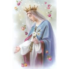 Obrázok: Panna Mária Kráľovná - smútočný (3732)
