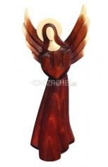 Drevorezba: Anjel, krídla hore - veľký (JC03-B)