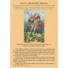 Obrázok: Sv. Michal archanjel (A5) - papierový