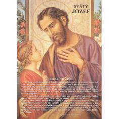 Obrázok: Sv. Jozef - s modlitbou, A5