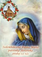 Skladačka: Ruženec Sedembolestnej Panny Márie - v púzdre