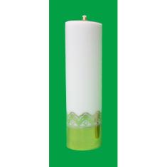 Sviečka olejová (4006) - biela