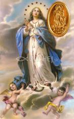 Kartička: Bohorodička (RCC) - s modlitbou, plastová