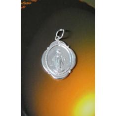 Prívesok: Zázračná medaila (ZMč.1) - strieborný