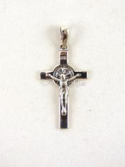 Prívesok: Benediktínsky krížik, strieborný (1)